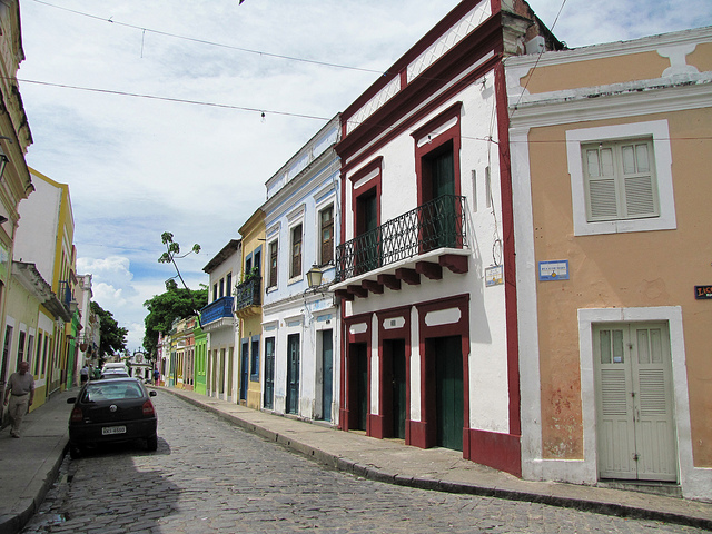 The historic downtown area ranks as one of the top destinations in Olinda, Brazil...!