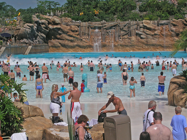 Typhoon Lagoon is just one of many amazing water parks in Orlando
