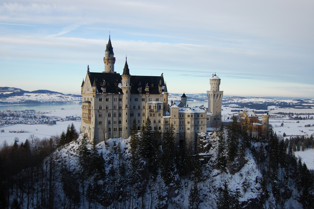 Fairytale castles make Germany one of the best luxury destinations in Europe ... photo by CC user 45804417@N00 on Flickr