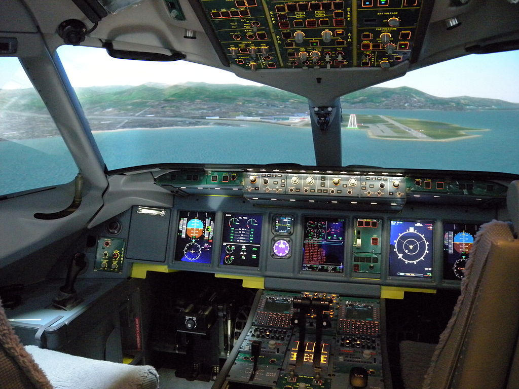 Signing up for a flight simulator session is one of the more awesome activities to try in the UK ... photo by CC user SuperJet International on Flickr